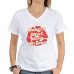 Adapts Well Women's V-Neck T-Shirt