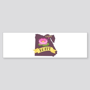 Egypt Cairo Capital Bumper Sticker