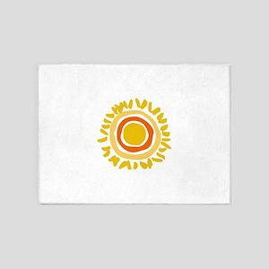 MINI SUN 5'x7'Area Rug