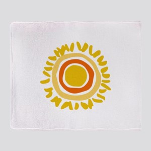 MINI SUN Throw Blanket