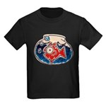 Fish Bowl Kids Dark T-Shirt