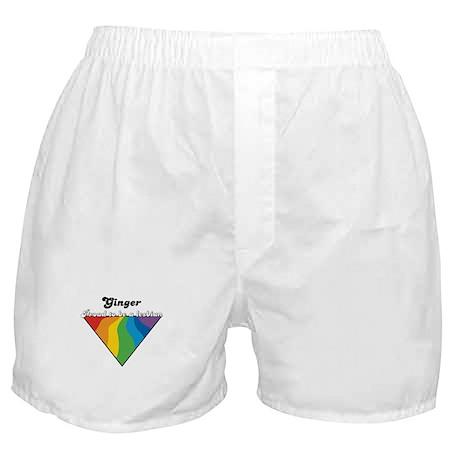 Ginger: Proud Lesbian Boxer Shorts