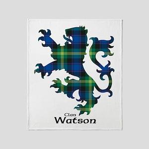 Lion-Watson Throw Blanket