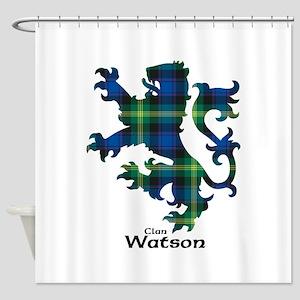 Lion-Watson Shower Curtain