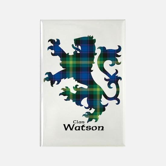Lion-Watson Rectangle Magnet