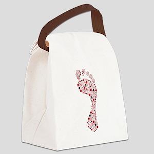 carbon footprint Canvas Lunch Bag