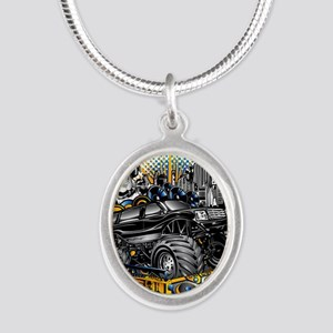Music Mixer Monster Truck Necklaces