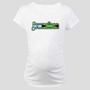 JewMaican Maternity T-Shirt