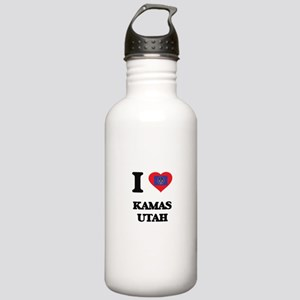 I love Kamas Utah Stainless Water Bottle 1.0L