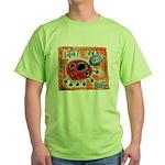 ladybug Green T-Shirt