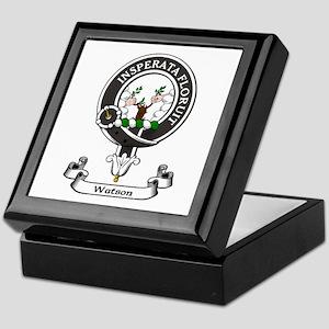 Badge-Watson Keepsake Box