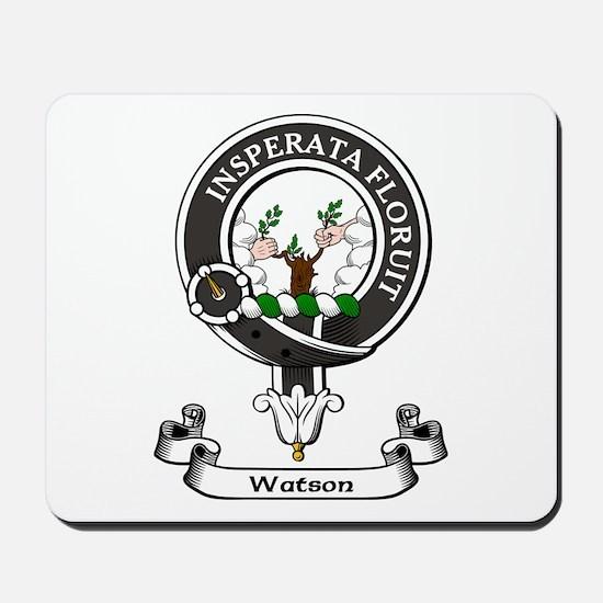 Badge-Watson Mousepad