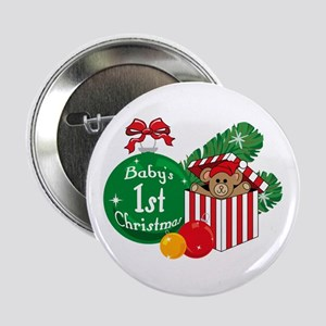 Baby's 1st Christmas Button