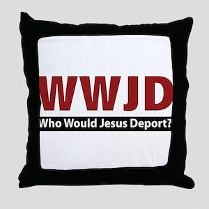 Deport Throw Pillow