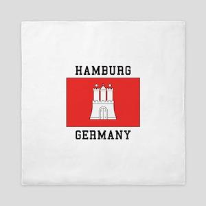 Hamburg Germany Queen Duvet
