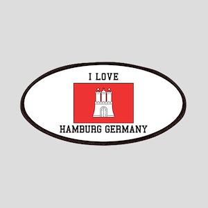 I Love Hamburg Patch