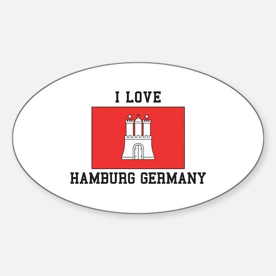 I Love Hamburg Decal