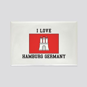 I Love Hamburg Magnets