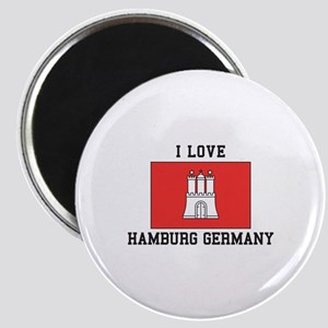 I Love Hamburg Magnets