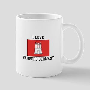 I Love Hamburg Mugs