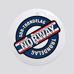 Sor-Trondelag Trondelag Norway Ornament (Round)