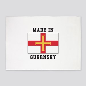 Made In Guernsey 5'x7'Area Rug