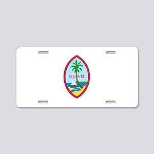 Guam Seal Aluminum License Plate