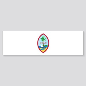 Guam Seal Bumper Sticker