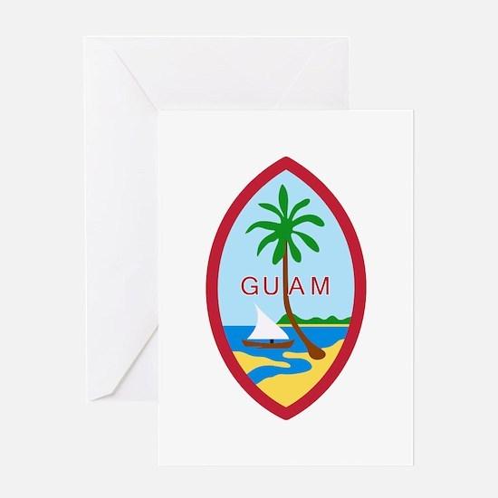 Guam Seal Greeting Cards