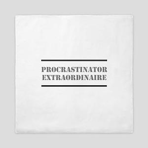 Procrastinator Queen Duvet