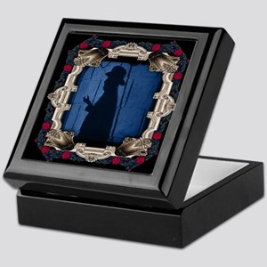 The Phantom Behind Mirror With Red Keepsake Box