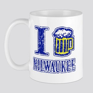 I BEER MILWAUKEE Mug