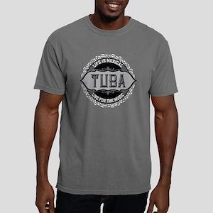 Tuba Music Note Circle T-Shirt