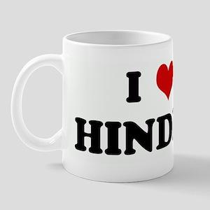 I Love HINDER Mug