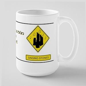 Craigh na Dun or Bust Warning Large Mug