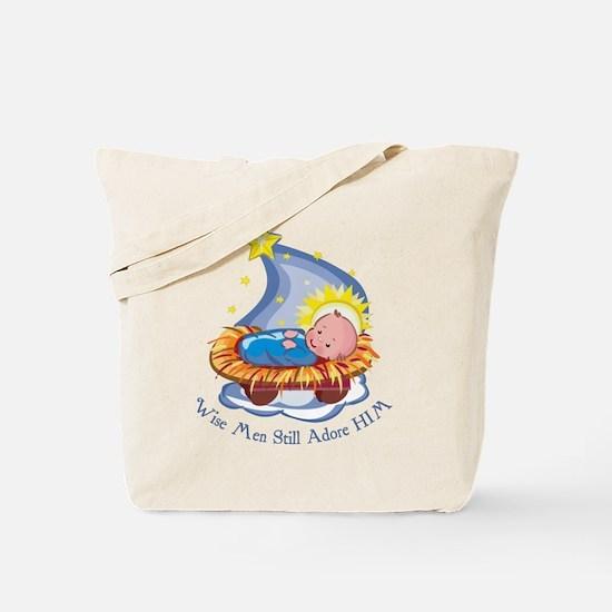 Wise Men Adore HIM Tote Bag