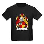 Packenham Family Crest Kids Dark T-Shirt