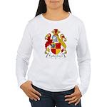 Packenham Family Crest Women's Long Sleeve T-Shirt