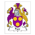 Pace Family Crest Small Poster