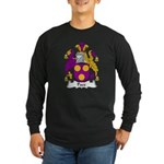 Pace Family Crest Long Sleeve Dark T-Shirt