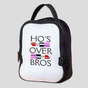 Ho's Over Bro's Neoprene Lunch Bag