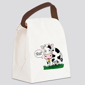 Moo? Canvas Lunch Bag