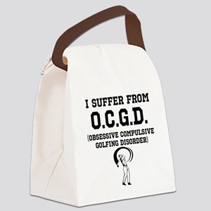 Obsessive Compulsive Golfing Disorder Canvas Lunch