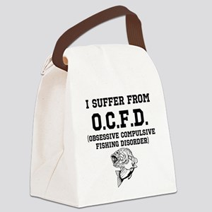 Obsessive Compulsive Fishing Disorder Canvas Lunch