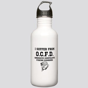 Obsessive Compulsive Fishing Disorder Water Bottle