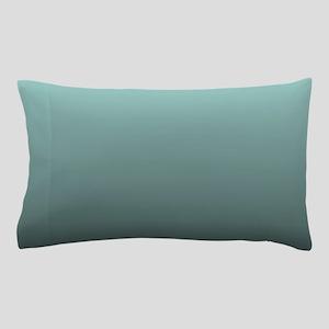 teal seafoam ombre Pillow Case
