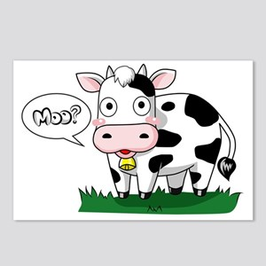 Moo? Postcards (Package of 8)