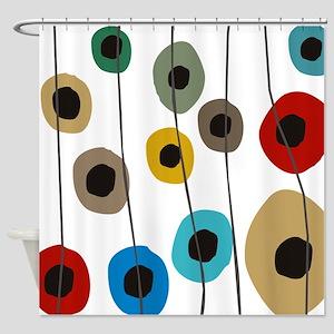 Circles Upon Circles Shower Curtain