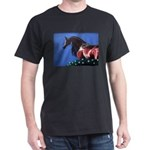 bay arabian horse Dark T-Shirt