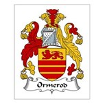 Ormerod Family Crest Small Poster